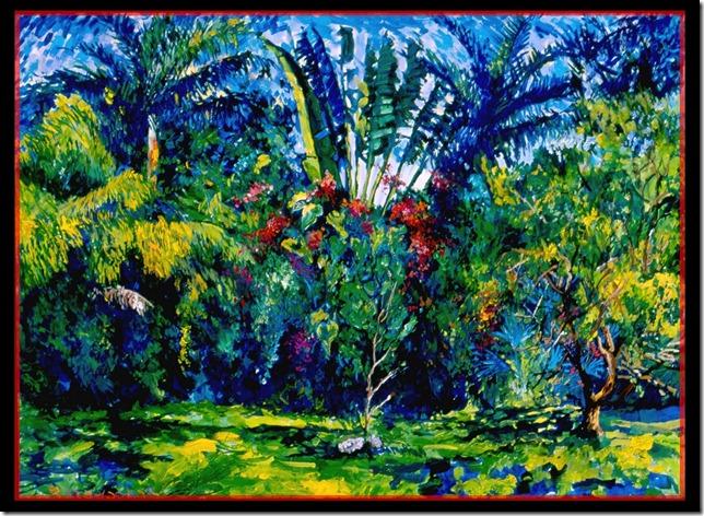 Backyard Paradise (Miami Winter)